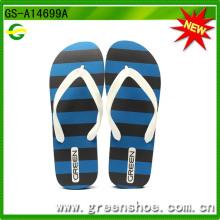 Männer EVA Flip Flop Slipper Fabrik in Jinjiang (GS-A14699A)