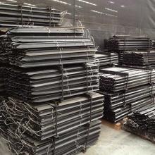 2.4m Black Bitumen/Galvanized Star Picket Farm Fence Y Steel Post