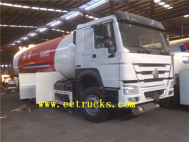 LPG Gas Filling Tank Trucks