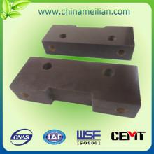 Parte de mecanizado procesado de aislamiento eléctrico