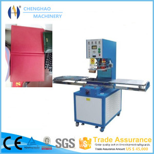 PVC PU Leather Book Cover Making Machine