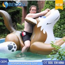 Personalizado Gigante Inflable Swan Watermelon Horse Flamingo Unicorn Pool Float