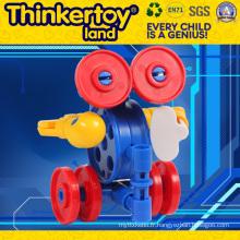 Ensemble de construction de jouets en plastique pour enfants