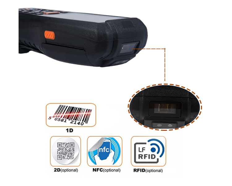 Barcode scanner PDA Android 1204 (4)
