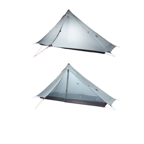 3 Season Professional Nylon Both Sides Silicon Outdoor Glamping Tents Camping