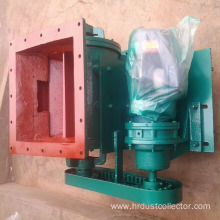 Square mouth discharge valve
