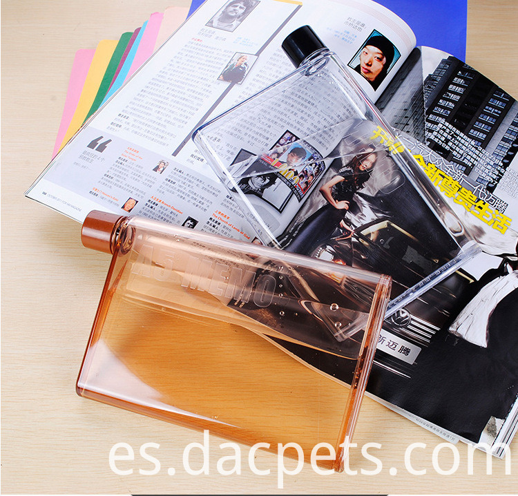 430ml Fashion A5 Memo Notebook Plastic Pc Water Bottle Dc A5memo 7