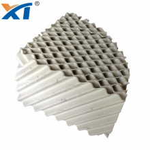 High Quality Light Ceramic Corrugated Plate Structured Packing For Packing Scrubber Tower