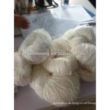 100% 4000den stumpfen rohen weißen Rayon Raffia