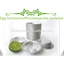 Kleine Aluminiumfolie Kuchenpfanne Mikrowelle Einwegschalen Aluminiumfolie Backwaren Hersteller