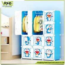 Perfect Design Home Storage Portable Kids Wardrobe