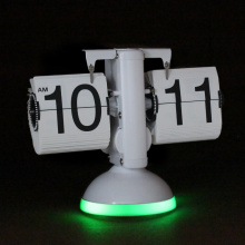 Flip Clock com LED Light Sound Controlled