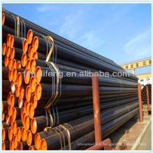 Tailles de tuyaux en acier ASTM A106