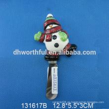 Cuchillo de cerámica de la Navidad del muñeco de nieve de la alta calidad