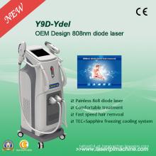 Máquina profissional permanente da remoção do cabelo para o laser Y9d do diodo 808nm