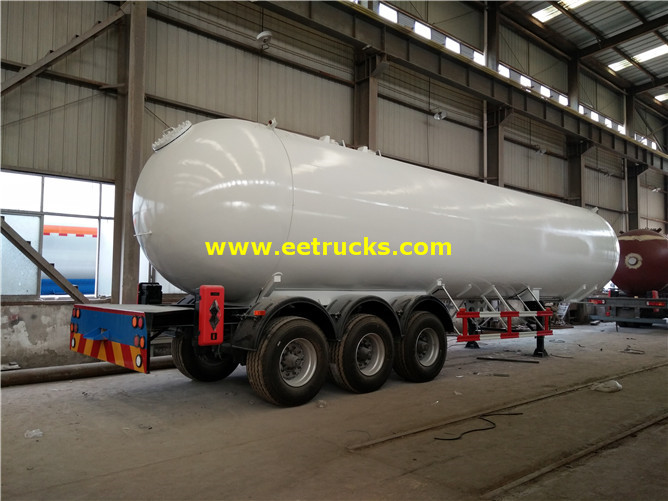 60000 Litres Tri-axle Propane Gas Trailer Tanks