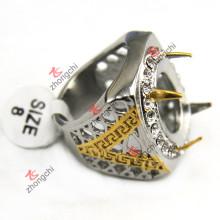 Оптовая Индонезия 316L из нержавеющей стали кольца для мужчин ювелирные изделия (SSR-07)