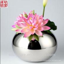 2016 New Abstract Modern Flower Vase Home Decoration Stainless Steel Vase
