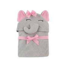 conjunto de toalha com capuz bebê fofo com capuz