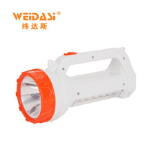 High Quality LED 2000 Lumens Torch Flash Light Long Distance Handle Searchlight