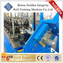 Máquina de formação de rolo de purlin de u / c / z qualificada / máquina de laminação a frio formando linha de trabalho