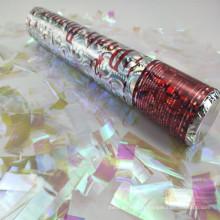 Popper de fête de Canon de flocon de neige de papier d'aluminium d'Halloween pour la décoration de Noël
