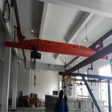 LX 1 ton single single girder suspension bridge crane
