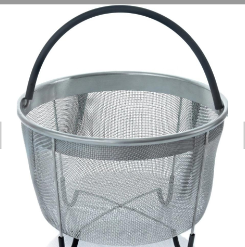 SS304 stainless steel mesh rectangular round basket 5