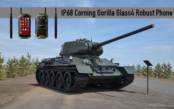 IP68 Corning Gorilla Glass4 Robust Phone
