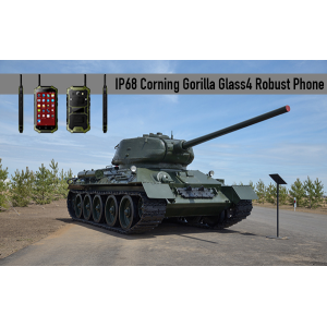 IP68 Corning Gorilla Glass4 telefono robusto