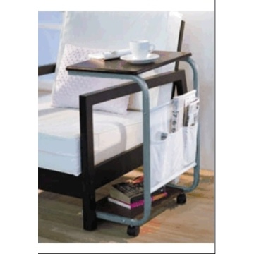 Movable Small Mdf Table with Ivory T/C Fabric