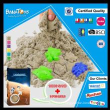 6 colores DIY juguete de arena mágica