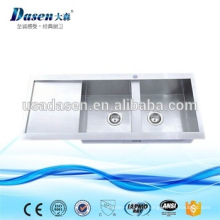 DS11650 Фостер встройной двойной крылом из нержавеющей стали кухонная раковина