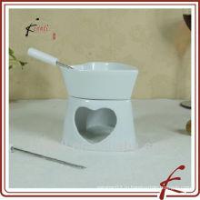Набор из нового набора керамических фондю