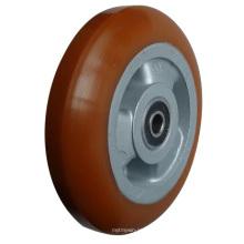 Колесные диски из полиуретана с алюминиевым центром