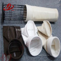 La planta de cemento usó bolsas de filtro de polvo de tela