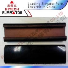 Courroie noire à main courante à escalier mécanique de bonne qualité