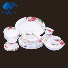 Heat Resistant Opal Glassware-32PCS Dinner Set
