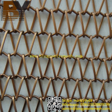 Decorative Mesh Curtain Architectural Partition or Divider Screen