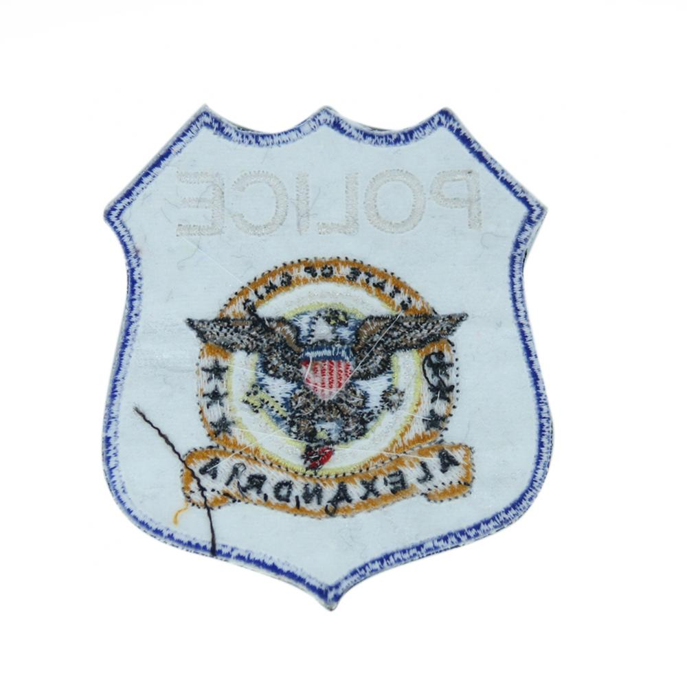 Fabric Police Embroidery