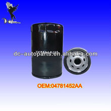 Automobile Oil Filter 04781452AA,070115561 For Ford/Lincoln/Mercury,Chrysler/Jeep/Mitsubishi,Mazda, Various Industrial Equipment