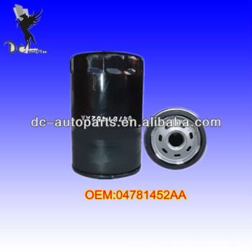Filtro de óleo de automóvel 04781452AA, 070115561 para Ford / Lincoln / mercúrio, Chrysler / Jeep / Mitsubishi, Mazda, vários equipamentos industriais