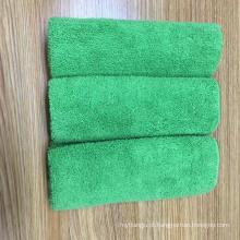 panos de limpeza de microfibra de fleece de coral personalizado com panos