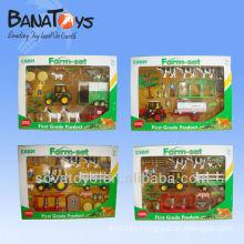 907090132 Juego de juguete de juguete de granja para niños