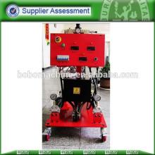 Máquina de pulverização de espuma com barris