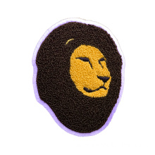 Custom Lione Chenille Badge para Jeans