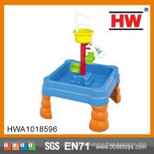 Niños de alta calidad de verano de plástico de arena y agua juego de mesa de juguete