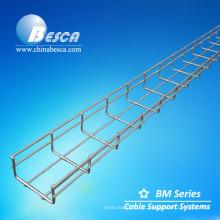 Bandeja de cabo galvanizada mergulhada quente do engranzamento de fio (CE, UL, GV, IEC, NEMA)