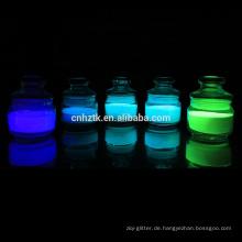 Glow In The Dark Puder Glow In Dark Pigment für Fluchtwegkennzeichnung Beschichtung und Farbe