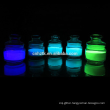 Glow In The Dark Powder Glow In Dark Pigment for Escape Route Signs coating and paint